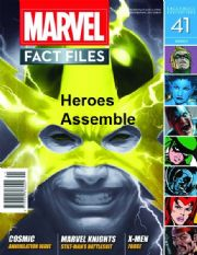 Marvel Fact Files #41 Eaglemoss Publications